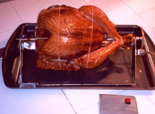 Leantisserie - The Freestanding Oven Rotisserie for The Winter! - Click Image to Close
