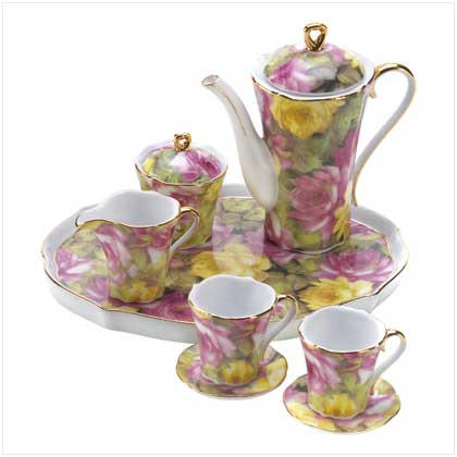 Rose Garden Mini Tea Set - FREE SHIPPING!