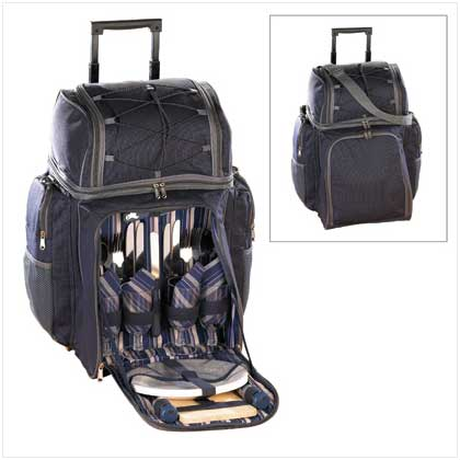 Deluxe Picnic Trolley - FREE SHIPPING!