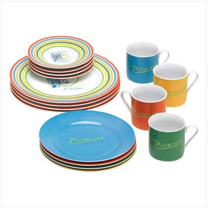 Picasso Lines Dinnerware Set - FREE SHIPPING!