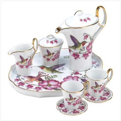 Hummingbird Mini Tea Set - FREE SHIPPING!